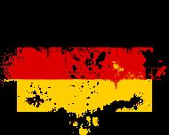 Fan-Shirt: I love ich liebe Germany Deutschland flag flagge