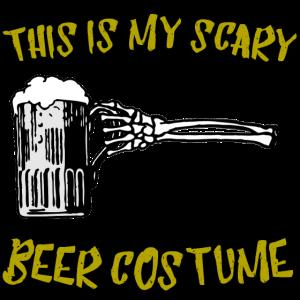 bier kostuem halloween gruselig