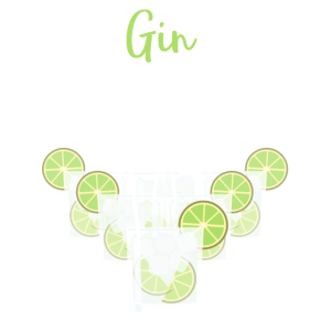 Gin Pong Party Spiel