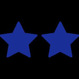 Zwei Sterne - anpassbar