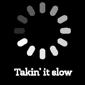 Takin' es Langsaminternet Web Laden Computer-Symbol