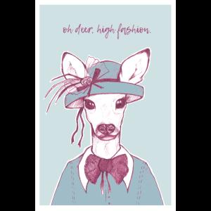 Oh Deer – Blau