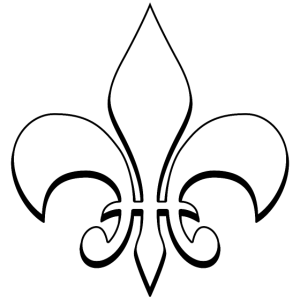 Bourbonische Lilie - Pfadfinder - weiß
