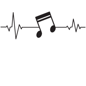 Heartbeat Musik Note