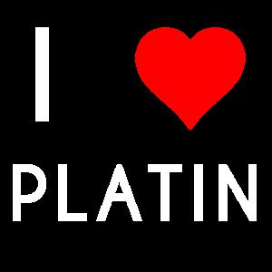 I LOVE PLATIN Motiv