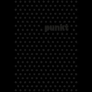 Punkt schwarz Pünktchen gepunktet Muster