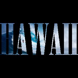 HAWAII Surfer Welle