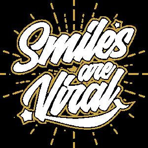 Lächeln ist viral