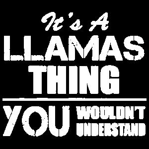 Es ist Lama-Sache-Hemd