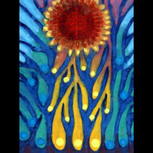 Kranke Sonne