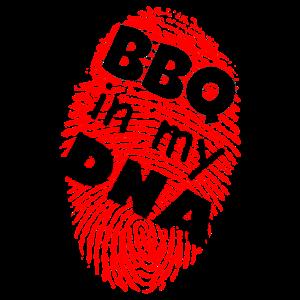 BBQ in my DNA - BBQ Grillmeister Smoker Geschenk