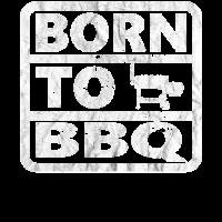 Grillmeister BBQ Smoker - Born to BBQ Geschenk