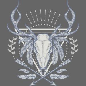 NB Apparel Logo white