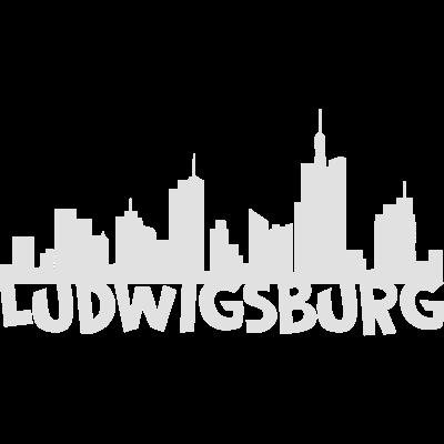 Ludwigsburg Skyline -  - vintage,swag,stylish,style,sport,skyline,retro,nice,nerd,lustige,kunst,hipster,fun,festival,coole,cool,comic,chaos,art,Schwarz-weiß,Ludwigsburg,Landkreis,Grafik,Duisburg,Deutschland