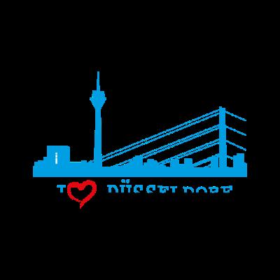 Düsseldorf - Düsseldorf - Düsseldorf Fußball,Düsseldorf Skyline,Düsseldorf Deutschland,Düsseldorf Stadt,Düsseldorf Vorwahl,Düsseldorf,Geschenk,Ich liebe Düsseldorf