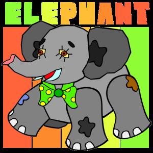 Elefant shirt kinder geschenk dumbo suess elefante