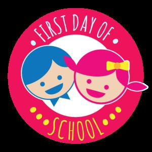 Erster Schultag Junge Mädchen Glücklich - Geschenk