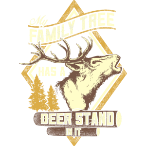 My Family Tree has an Deer Stand in it Jagd Jäger