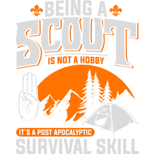 Scout Pfadfinder Post Apocalyptic Survival Skill