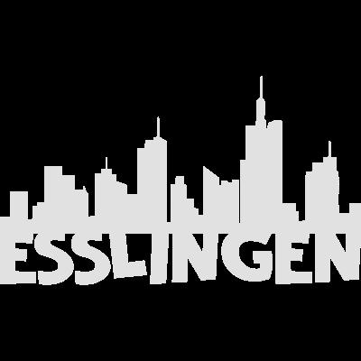 Esslingen Skyline -  - vintage,swag,stylish,style,sport,skyline,retro,nice,nerd,lustige,kunst,hipster,fun,festival,deutsch,coole,cool,comic,chaos,art,Schwarz-weiß,Landkreis,Grafik,Esslingen,Deutschland