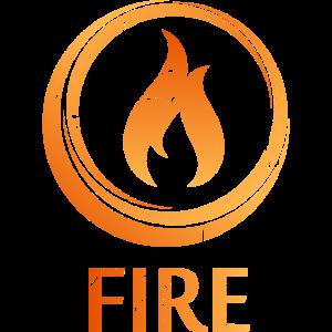 Vier Elemente Feuer