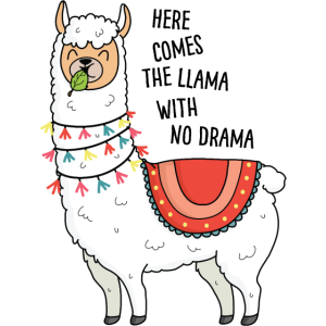 Llama with no drama