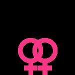 lesbian sign crown
