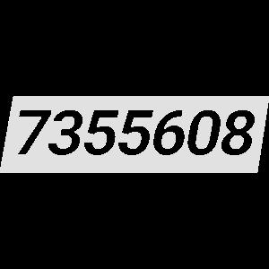 7355608 weiße Tafel