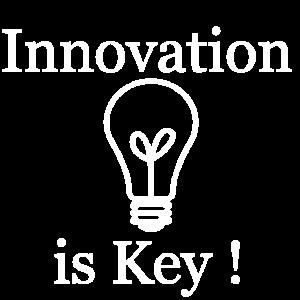 Innovation is Key Shirt mit Motiv