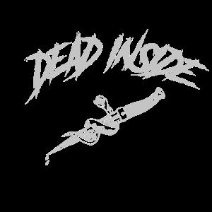 DEAD INSIDE cotedd grau
