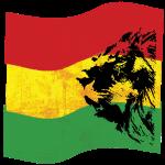 Lion Reggae Fahne