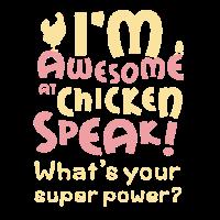 Lustiges Huhn-Hemd