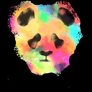 pandabär wasserfarben