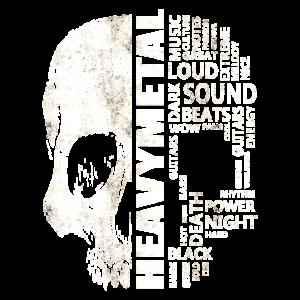 Heavy Metal Word Cloud