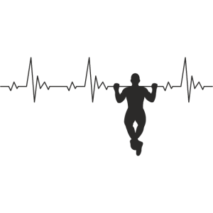 Calisthenics Heartbeat Klimmzug Frequenz Puls EKG