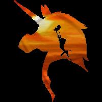 Baby unicorn king shirt
