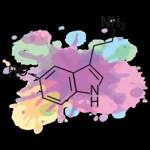 Serotonin chemische zusammensetzung wasserfarbe