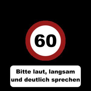 Achtung 60! Geburtstagsgeschenk 60. Geburtstag