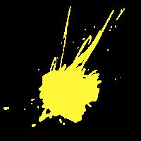 Farbklecks Gelb