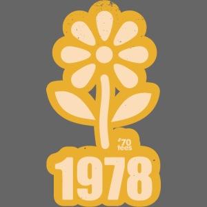 1978 yellow Flower