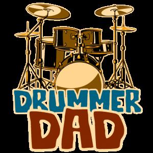 Drummer Dad - Schlagzeug Vater
