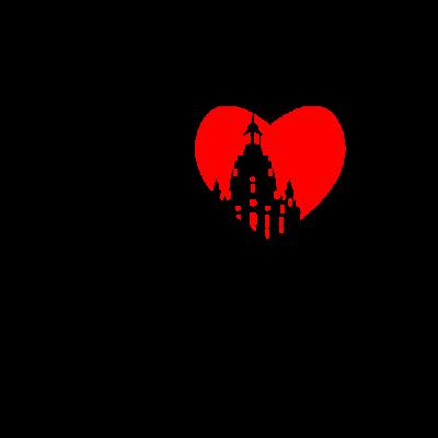 Dresden - Dresden - Dresden Vorwahl,Dresden Skyline,Dresden Deutschland,Dresden Stadt,Dresden,Geschenk,Ich liebe Dresden