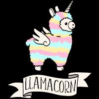 Llamacorn - Lama und Einhorn cooles Geschenk