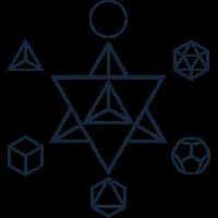 Merkaba und die Platonischen Körper, Heilige Geometrie