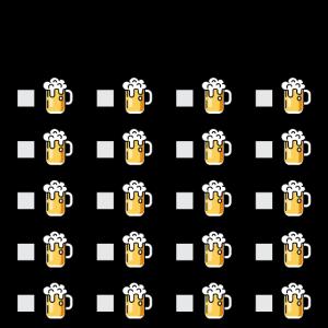 Oktoberfest ToDo Liste Bierkrug Checkliste lustig