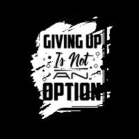 Aufgeben ist keini Option