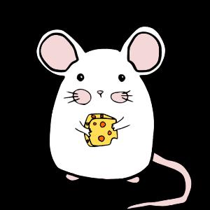 Maus mit Käse /Mäuschen