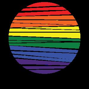 LGBT Symbol Geschenk Toleranz Menschenrechte Party