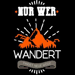 Wander Shirt · Berge Sonne · Wege Geschenk