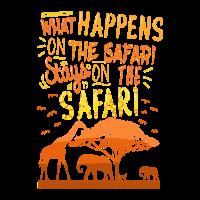 Was während der Safari passiert bleibt dort.